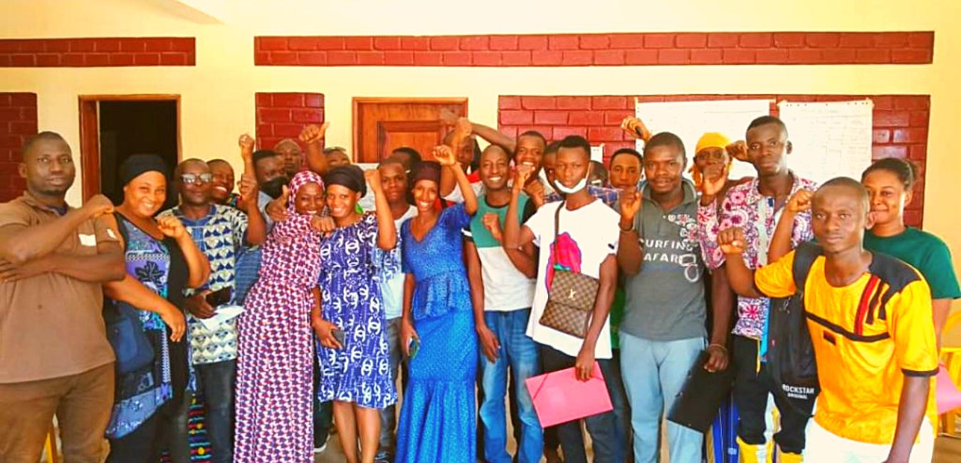 La plateforme Jeunes Solidaires forme 25 jeunes de Forécariah en gestion d'entreprise